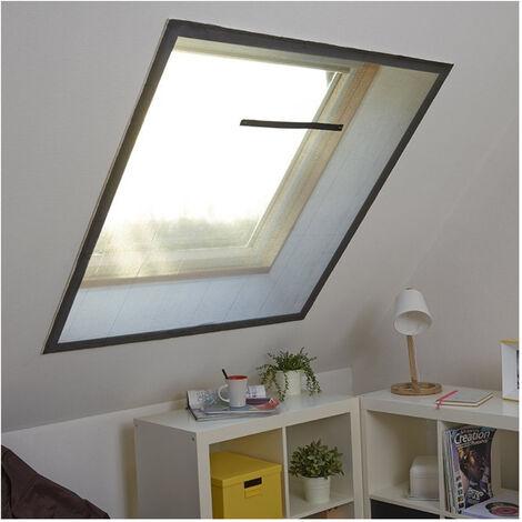 Moustiquaire fenêtre de toit - - L130 x H150cm