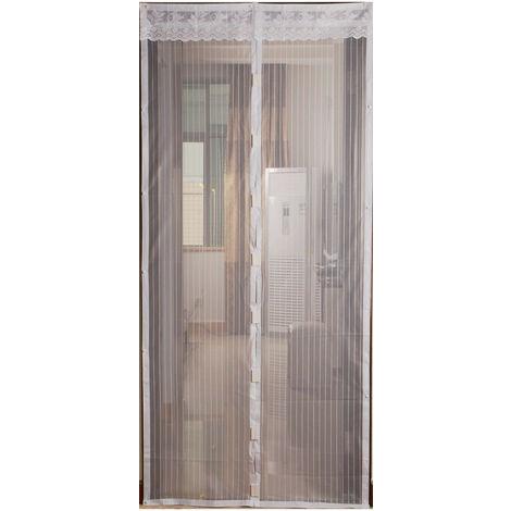 Moustiquaire magnétique Buzzoff - S'adapte à toutes les portes, s'ouvre et se ferme instantanément