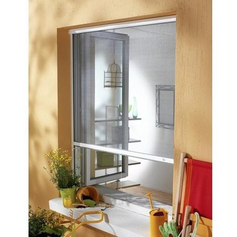 Moustiquaire New Idea AMB verticale 105x145 cm - Blanche - NID1051459010
