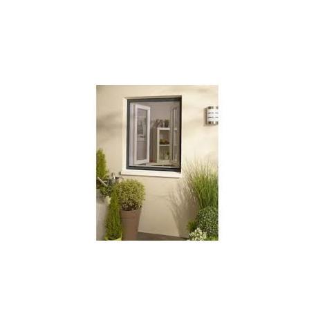 Moustiquaire New Idea AMB verticale 105x145 cm - Gris anthracite - NID105145GR7016