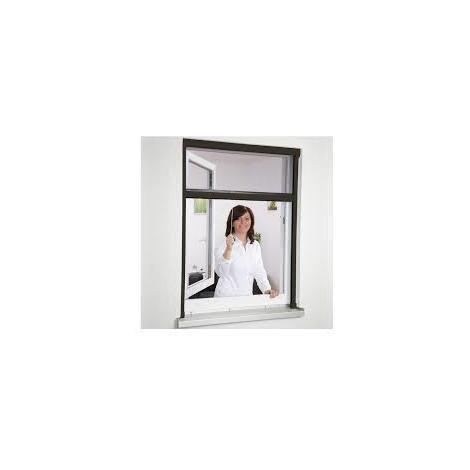 Moustiquaire New Idea AMB verticale 105x145 cm - Marron - NID1051458017