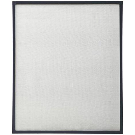 Moustiquaire pour fenêtre Anthracite 80x100 cm