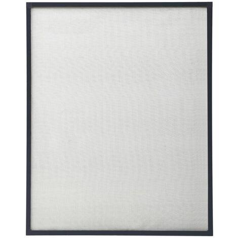 Moustiquaire pour fenêtre Anthracite 90x120 cm
