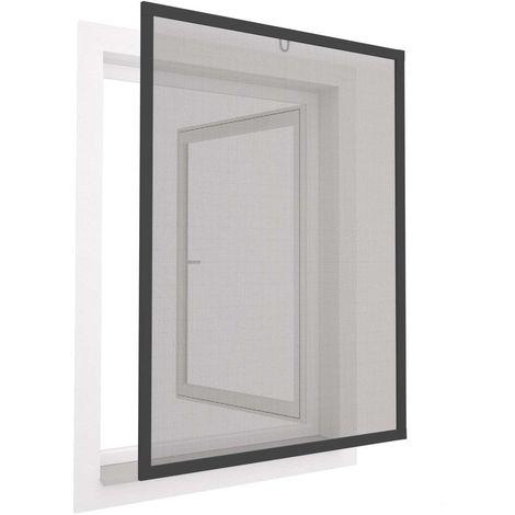 Moustiquaire pour fenêtre avec cadre en aluminium 120x140 cm 120x140 cm