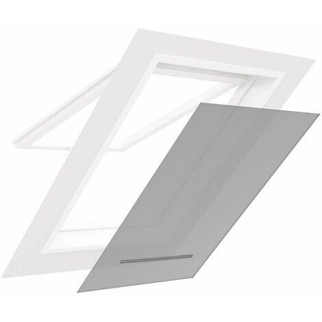 Moustiquaire pour fenêtre de toit Blanc