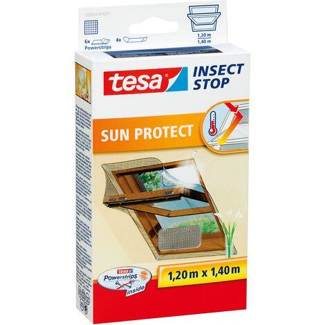 Moustiquaire pour fenêtre tesa Insect Stop Comfort 55924-21 (L x l) 1400 mm x 1200 mm anthracite 1 pc(s)