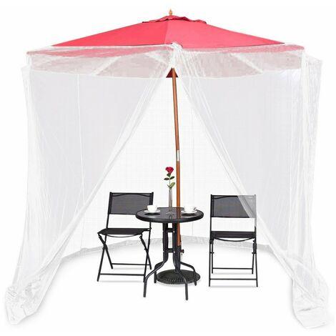 Moustiquaire pour parasol