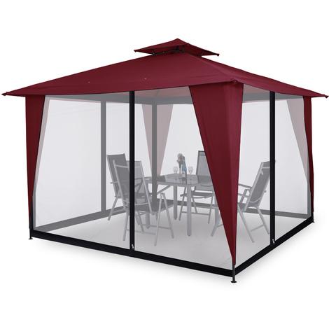 Moustiquaire pour Tonnelle/Pavillon Sairee filet protection ...