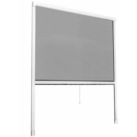 Moustiquaire store pour fenêtre 130 x 160 cm - Or