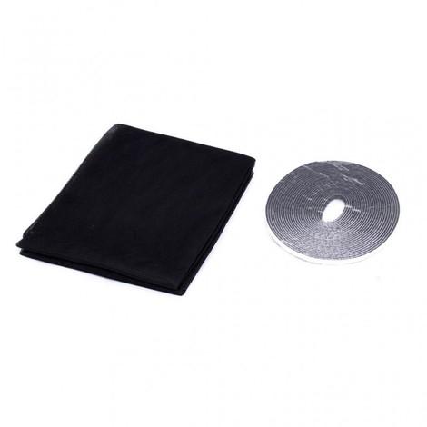Moustiquaire Velcro 130x150 NOIR
