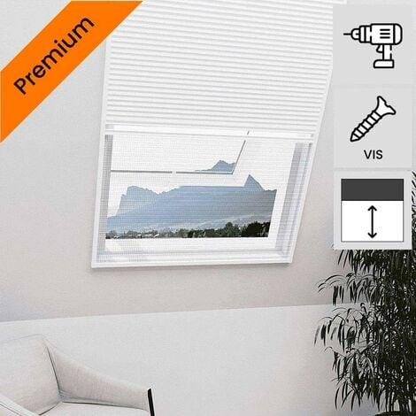 """main image of """"Moustiquaire velux plissée 2 en 1 Blanc - Blanc"""""""