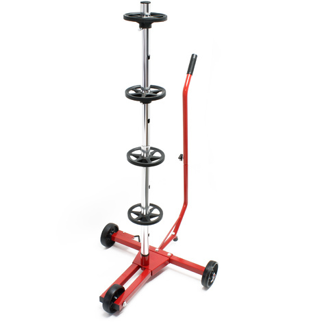 Movable Tire stand / Rim tree for personal vehicles Tires up to 225 mm