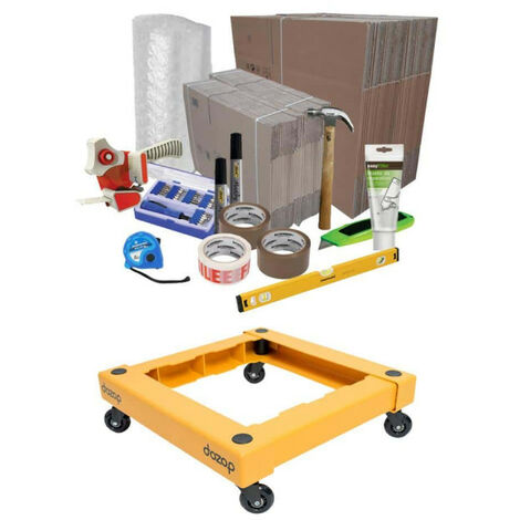 Moving pack for moving in - DOZOP compact dismountable transport trolley