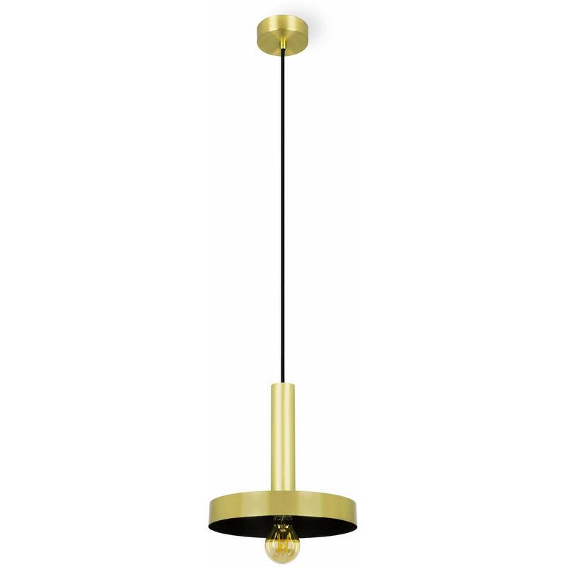 08-faro - WHIZ Gold Pendelleuchte 1 Glühbirne