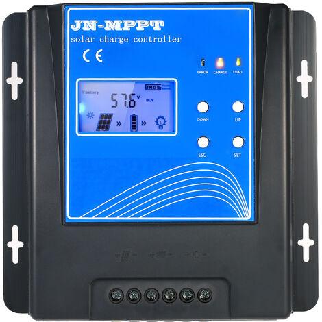 Mppt Solaire Controleur De Charge 12V / 24V / 48V Automatique Regulateur De Charge De La Batterie D'Identification, 10A