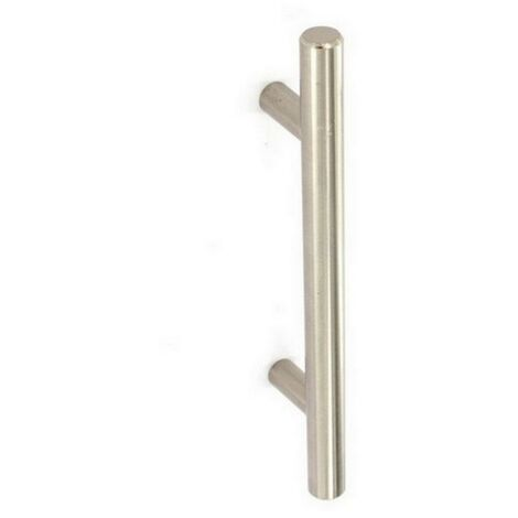 """main image of """"MPSS3724 - Securit S3724 22mm Bar Handle Brushed Nickel 192mm"""""""