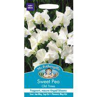 Mr Fothergills Pictorial Packet 20 Seeds Pandemonium Sweet Pea Flower