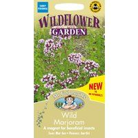 Mr Fothergills - Pictorial Packet - Wildflower - Wild Marjoram - 1000 Seeds
