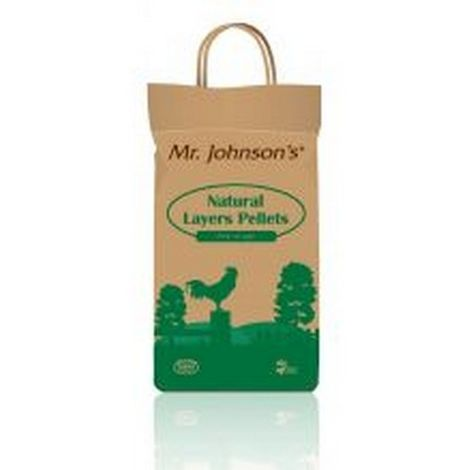 """main image of """"Mr Johnsons Natural Layer Pellets Chicken Feed - 5kg (5kg) (May Vary)"""""""