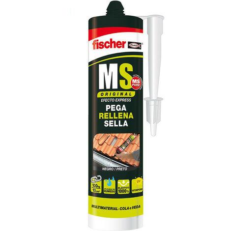 Ms Sellante Adhesivo Negro Fischer 290Ml - NEOFERR..