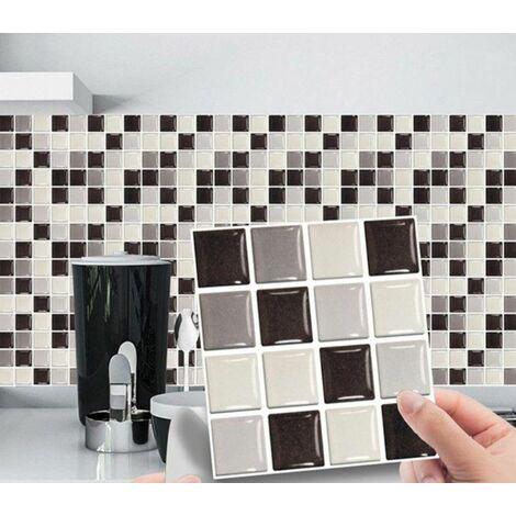 MSC068 Kitchen Bathroom PVC Tile Stickers