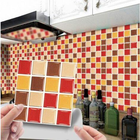 MSC069 Kitchen Bathroom PVC Tile Stickers