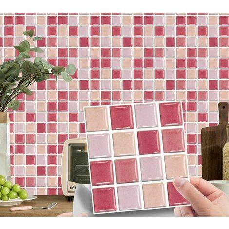 MSC070 Kitchen Bathroom PVC Tile Stickers