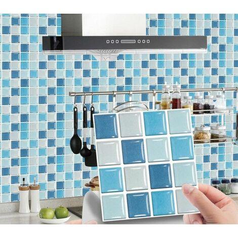 MSC071 Kitchen Bathroom PVC Tile Stickers