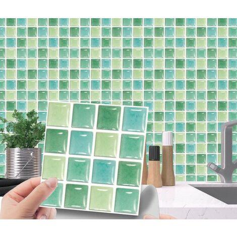 MSC072 Kitchen Bathroom PVC Tile Stickers