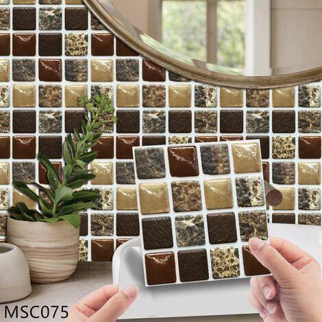 MSC075 Kitchen Bathroom PVC Tile Stickers