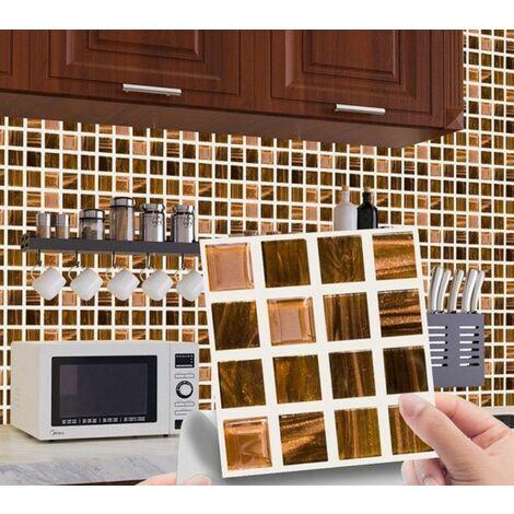 MSC076 Kitchen Bathroom PVC Tile Stickers