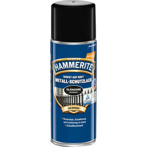 MSL brillant noir Peinture de protection en aérosol 400ml HT (Par 6)