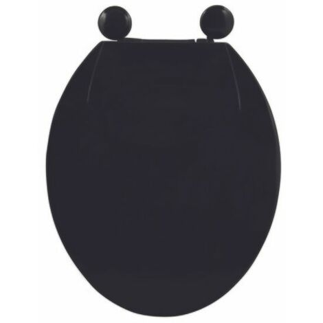 MSV Abattant Wc PP Noir - Noir