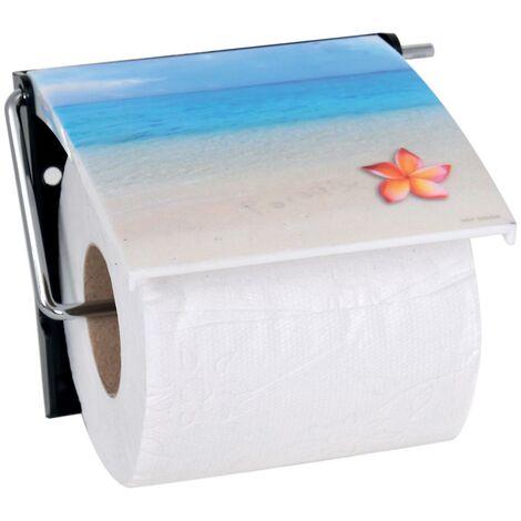 "MSV Bad Serie ""Paradise"" Toilettenpapierhalter WC Rollenhalter Papierhalter Klopapierhalter"