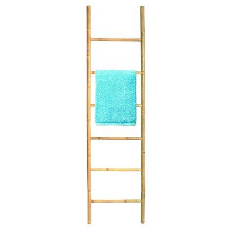 """main image of """"MSV Porte Serviettes Echelle 6 niveaux Bambou - Bambou"""""""