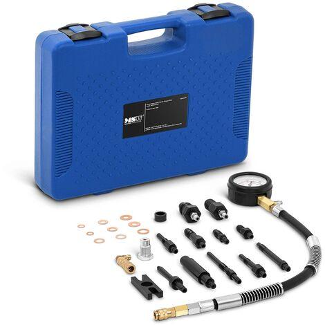 MSW Compressiomètre Testeur De Compression 0 - 70 bars / 0 - 1 000 psi