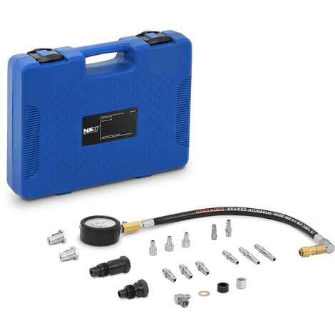 MSW Compressiomètre Testeur De Compression Diesel Moto 0 - 70 bars / 0 - 1 000 psi
