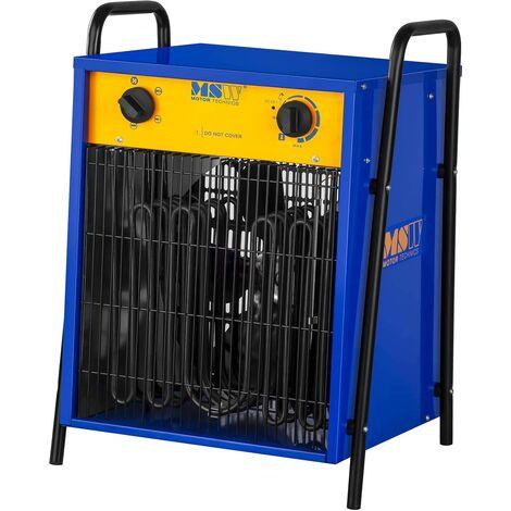 MSW Generador de Aire Caliente Eléctrico de 15.000W 0 - 40 °C Silencioso