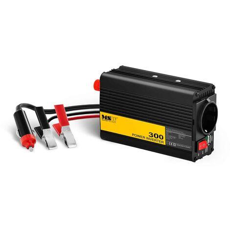 MSW Inversor de Corriente Onda Sinusoidal Pura 300W DC 12 V : AC 230 V