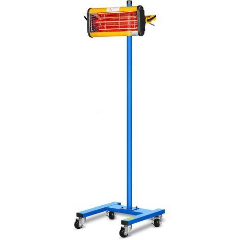 MSW IR-DRYER1000 Lampada infrarossi per carrozzeria Lampada per verniciatura carrozzeria