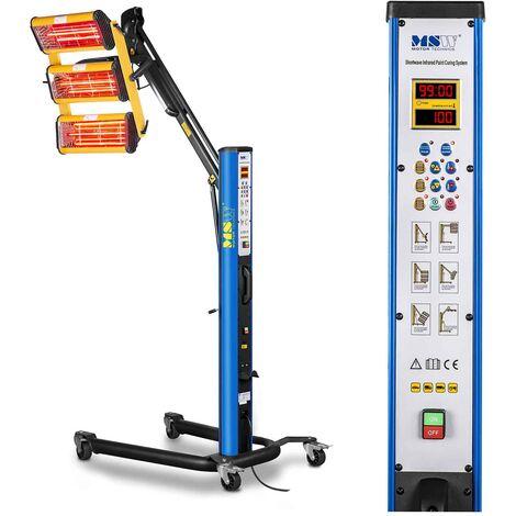 MSW IR-DRYER3000.1 Lampada infrarossi per carrozzeria Lampada per verniciatura carrozzeria
