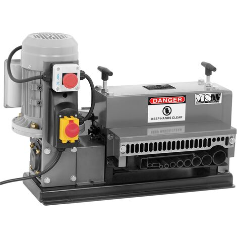 MSW Machine à Dénuder Dénudeuse Dénudage Dégaineuse 750 W Ø 7 - 38 mm