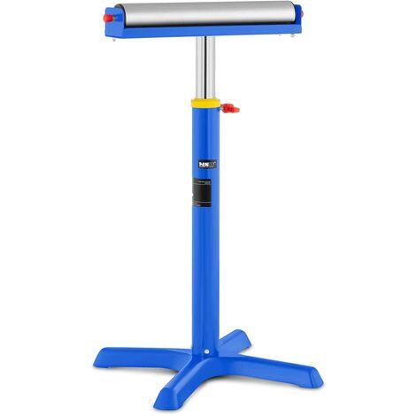 MSW Soporte de Rodillo para Taller Altura 68-114cm, Capacidad de Carga 80 kg