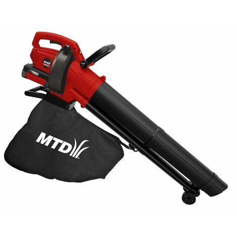 MTD 40V Aspirateur souffleur à batterie BLBV40, max 265 km/h, sans batterie ni chargeur - 41AB0-QO600