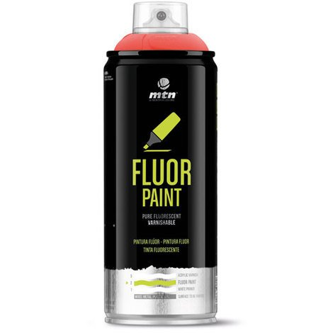 MTN PRO - Spray Pintura Flúor 400ml
