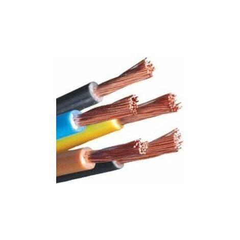Mtr cable 6 mm. Cable Flexible Libre de Halogeno