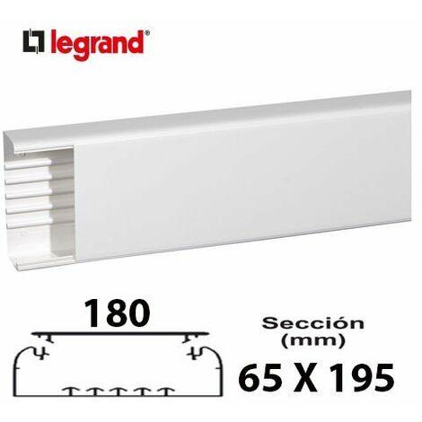 Mtr Canal Legrand Mecanizacion 65x195mm Blanca 010476