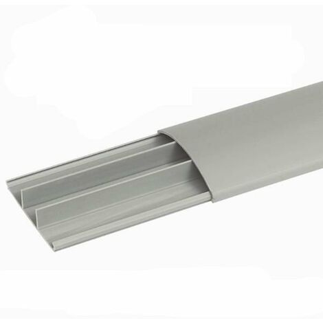 Mtr Canal Suelo Legrand 75x18mm Gris 30093