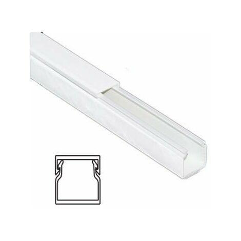 Mtr Canaleta blanca 15x17mm
