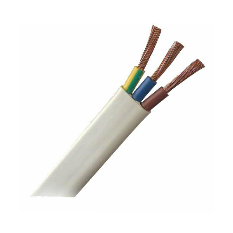 25m tubo extraplano precableado 3 unipolares h07V-K 2,5mm
